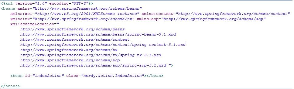 spring context.xml