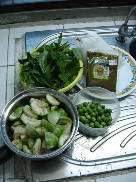 綠咖哩-蔬菜