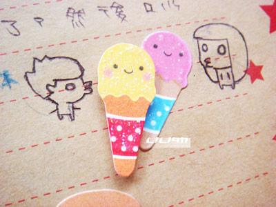 一起吃冰淇淋