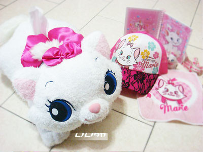二週年禮物-瑪莉貓面紙玩偶+貓帽子