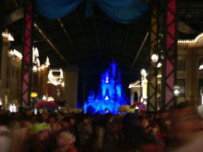 晚上的夢幻城堡
