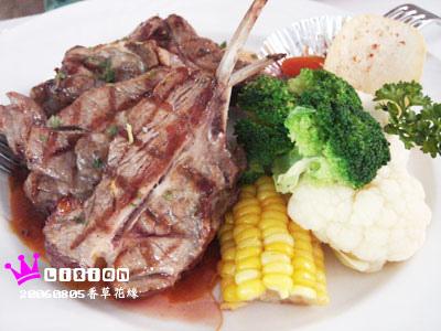 范'r的『碳烤法式羊排』