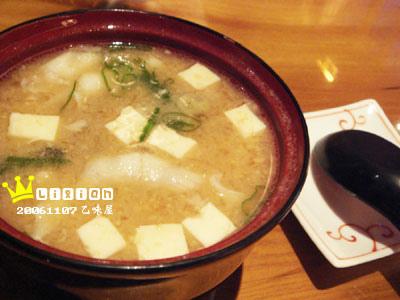 湯很濃滿滿料的味憎湯(小小碗60元)