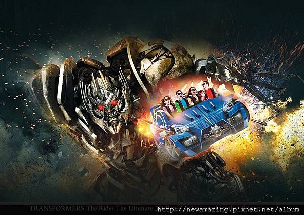TRANSFORMERS The Ride The Ultimate 3D Battle at Universal Studios Singapore