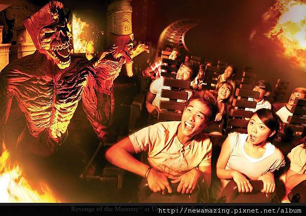 Revenge of the Mummy at Universal Studios Singapore