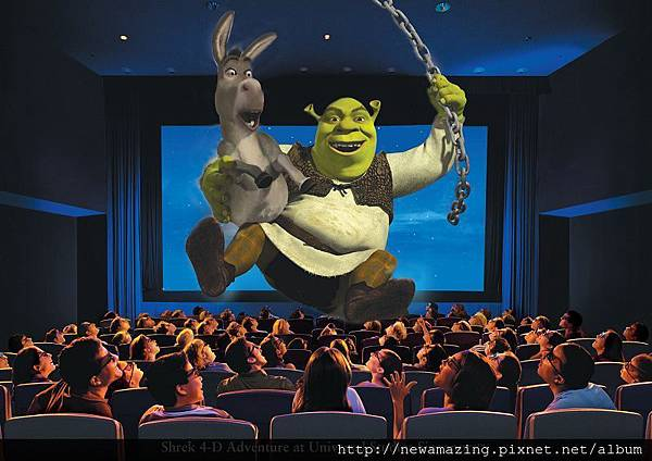 Shrek 4-D Adventure at Universal Studios Singapore