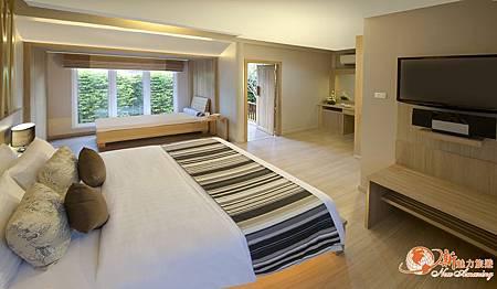 Synergy Samui 別墅房型-有按摩浴缸