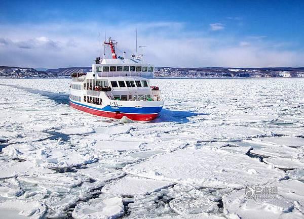 網走觀看流冰