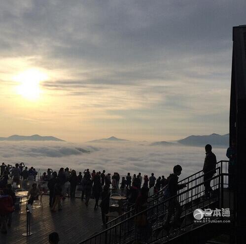 TOMAMU度假村的雲海天臺