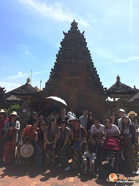 Puri Saren Agung烏布皇宮團體照.jpg