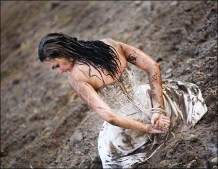 泥沼中的人