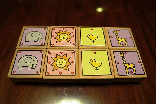 動物將棋-雙方棋子一覽