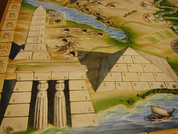 埃及(主遊戲板近拍).JPG