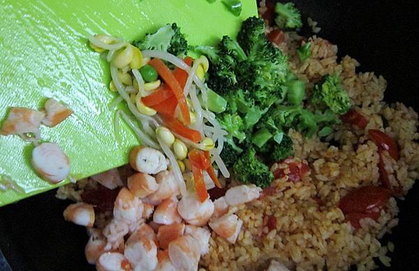 鮮蝦蕃茄炒飯-05