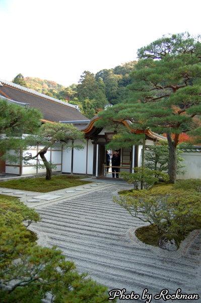 銀閣寺庭園2