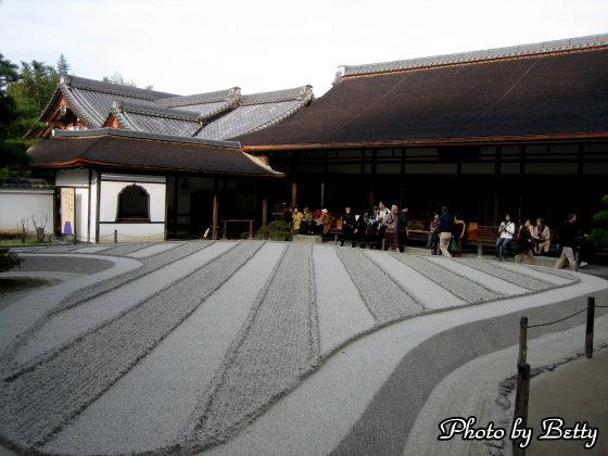 銀閣寺庭園3