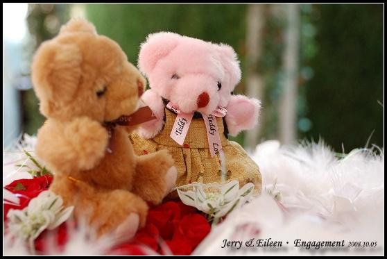 新娘精心挑選的小熊