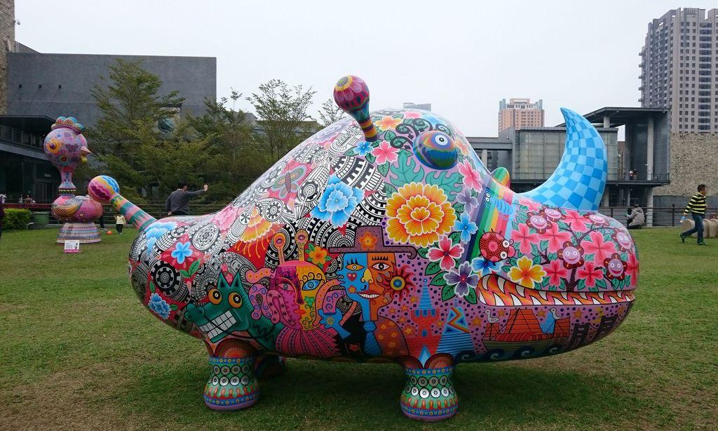 1609台中市西區「洪易的藝想世界」在國立台灣美術館