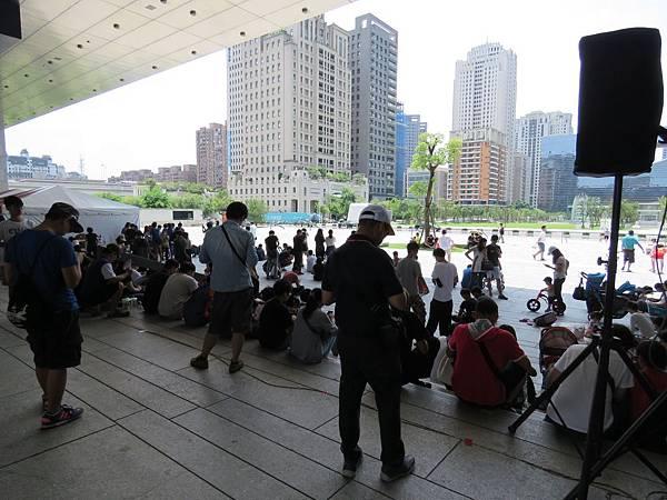 2020台中市北屯區「幸運草市集」在市政廣場