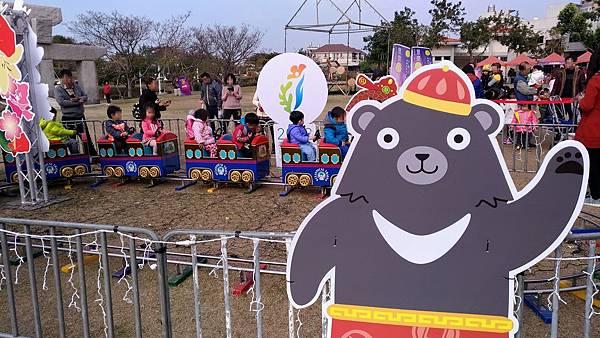 2280台中市豐原區「豐慶燈景」在葫蘆墩公園