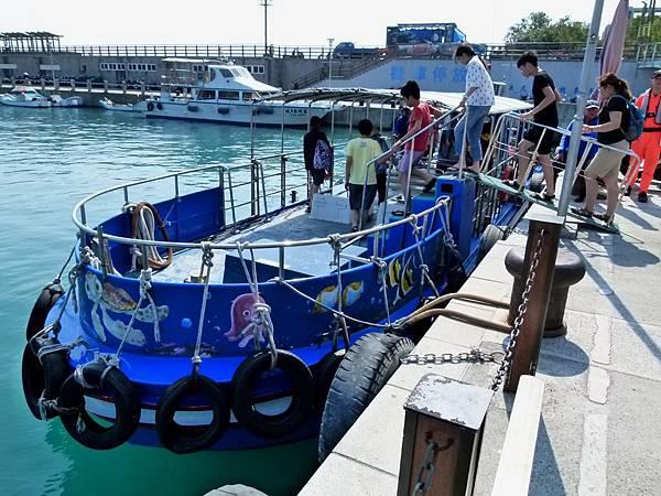 1197屏東縣琉球鄉玻璃船
