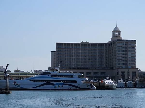 0047澎湖縣馬公市南海遊客中心出發的交通船