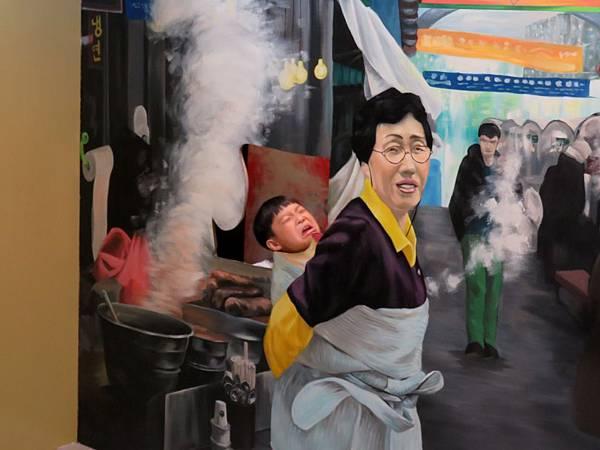 0146韓國仁寺洞愛來魔相4D藝術館
