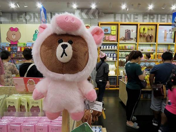 0268韓國明洞Line Friends Store旗鑑店