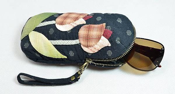 鬱金香眼鏡袋02