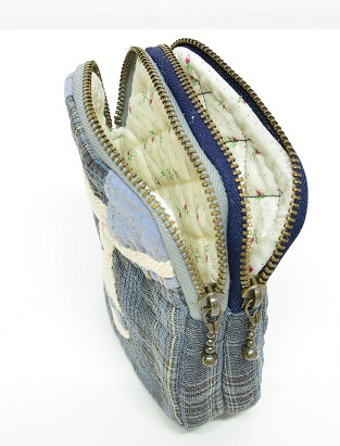 水手服雙拉鍊錢包03