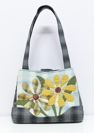 花朵束口三層側背包01