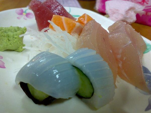 綜合生魚片二