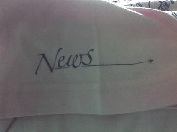 NewS T--袖子