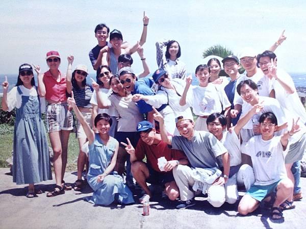 1993年與大學好友合照5