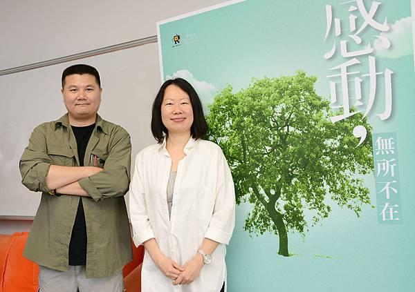 紀錄片工會理事長李惠仁導演&「台灣黑狗兄」賀照緹導演