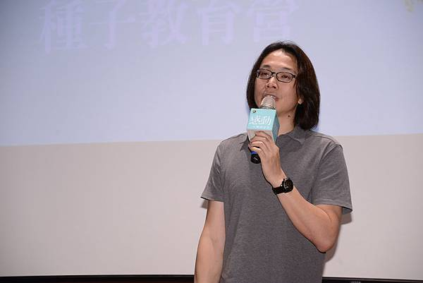 上一屆學長李開地老師分享經驗