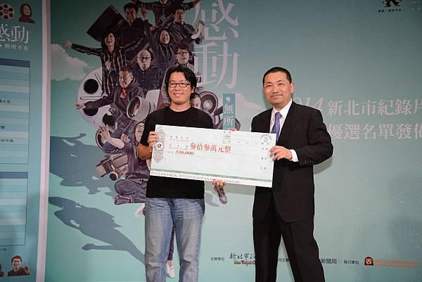 周文欽導演《蹦火》,連續三年入選,厲害阿!