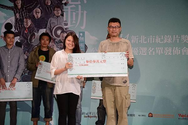 呂柔萱導演《夢想公民課》,本次最年輕的導演