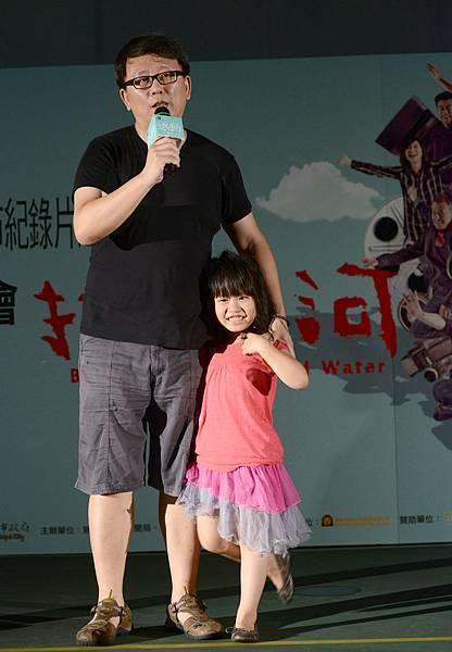 楊力州導演與女兒楊乃糖