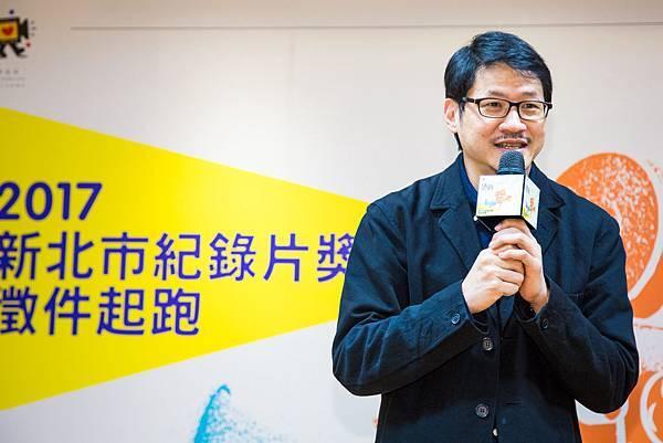 新北市紀錄片奬徵件記者會CNEX董事長蔣顯斌.jpg