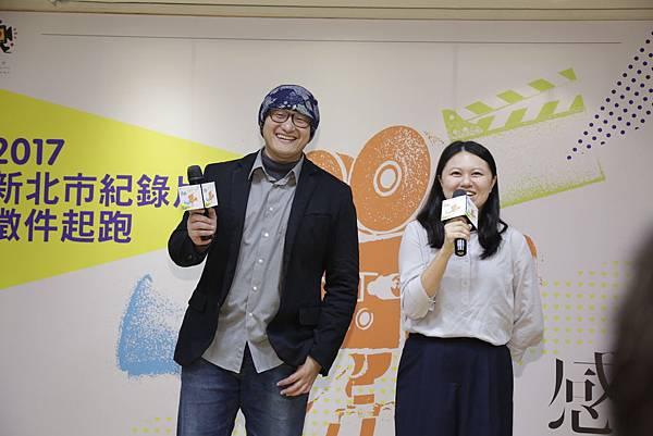 左:《那個靜默的陽光午後》導演陳志漢。右:《神明事務所》導演呂柔萱