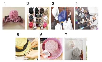 各種帽子收納或清潔方式推薦04