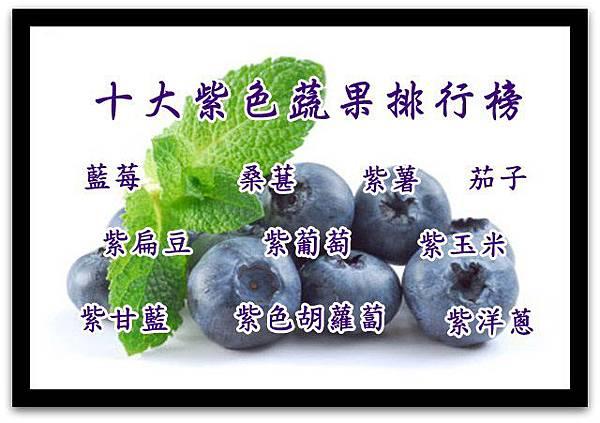 1十大紫色蔬果排行榜