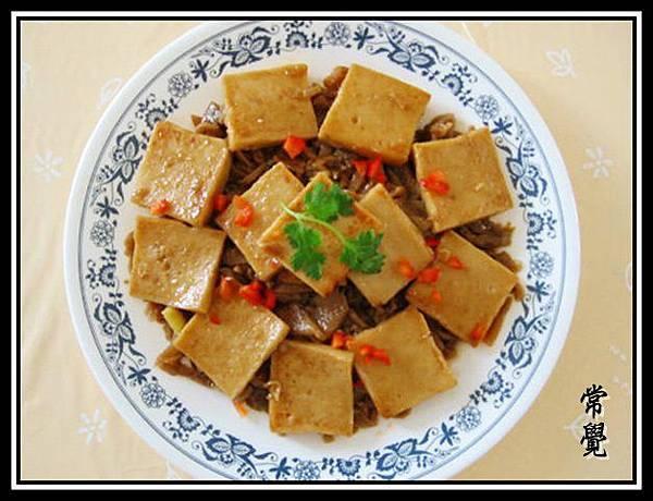 梅菜百頁豆腐--己出