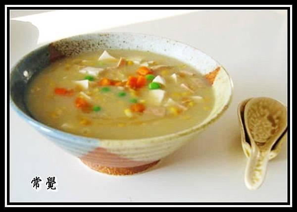 粟米豆腐羹