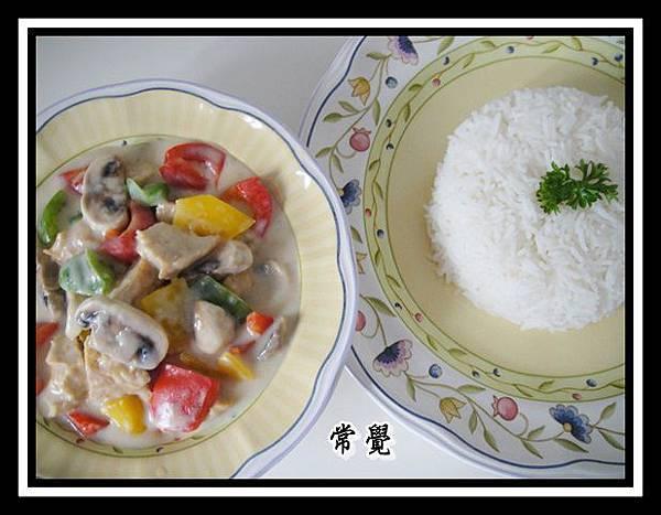 白汁腐球飯 (2)