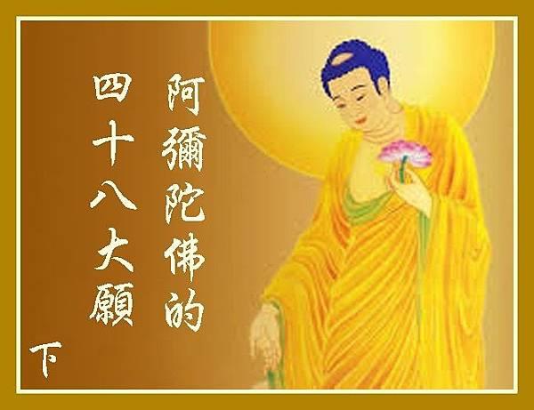 阿彌陀佛的四十八大願2