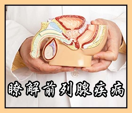 瞭解前列腺疾病