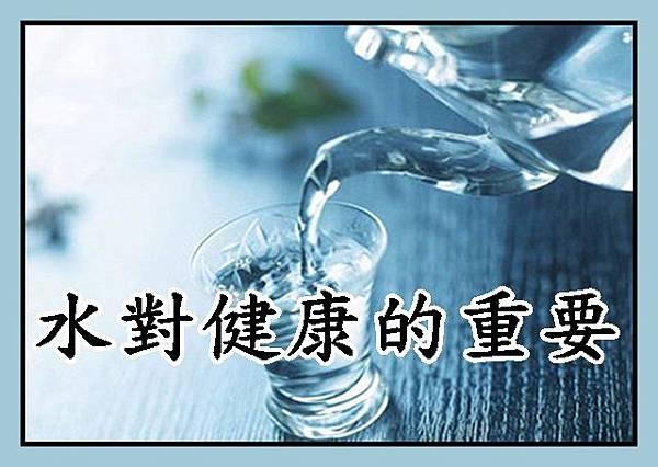 水對健康的重要