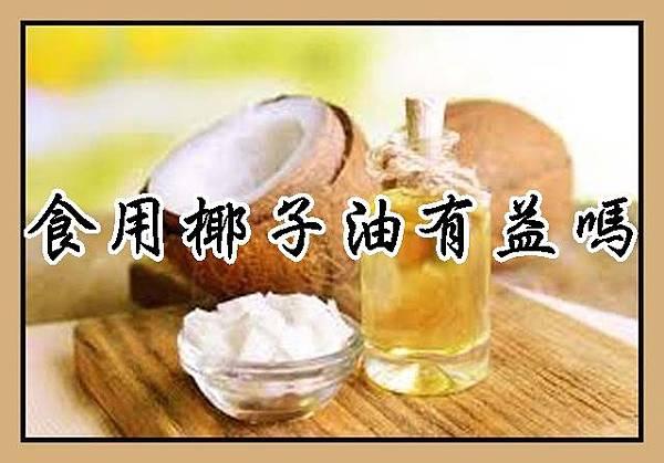 食用椰子油有益嗎
